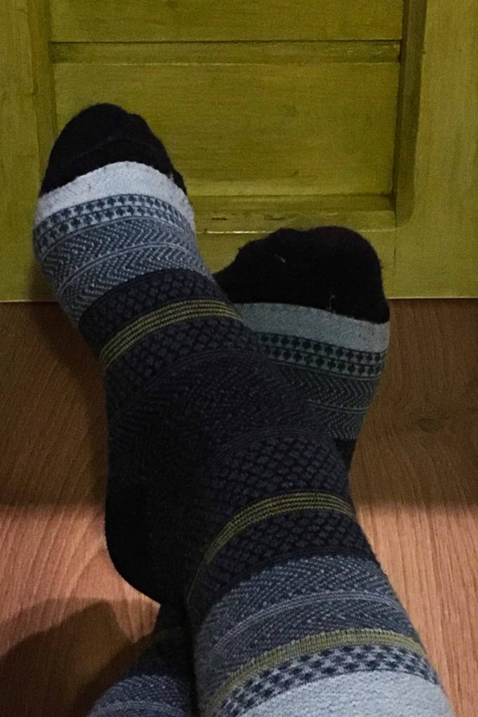 Darn Tough women's wool socks.