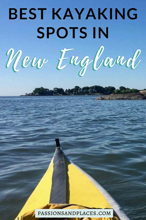 If you're planning to visit New England and you love kayaking, you'll be spoiled for gorgeous places to paddle. These are three of the top destinations to kayak in New England, and they can all be done as day trips from Boston. Head to Maine for the Casco Bay Islands, go to New Hampshire to paddle Portsmouth Harbor, or kayak the Thimble Islands in Connecticut. Sea kayaking in New England means stunning scenery, quaint lighthouses, and even opportunities for urban exploration - just mind the currents! #kayaking #NewEngland