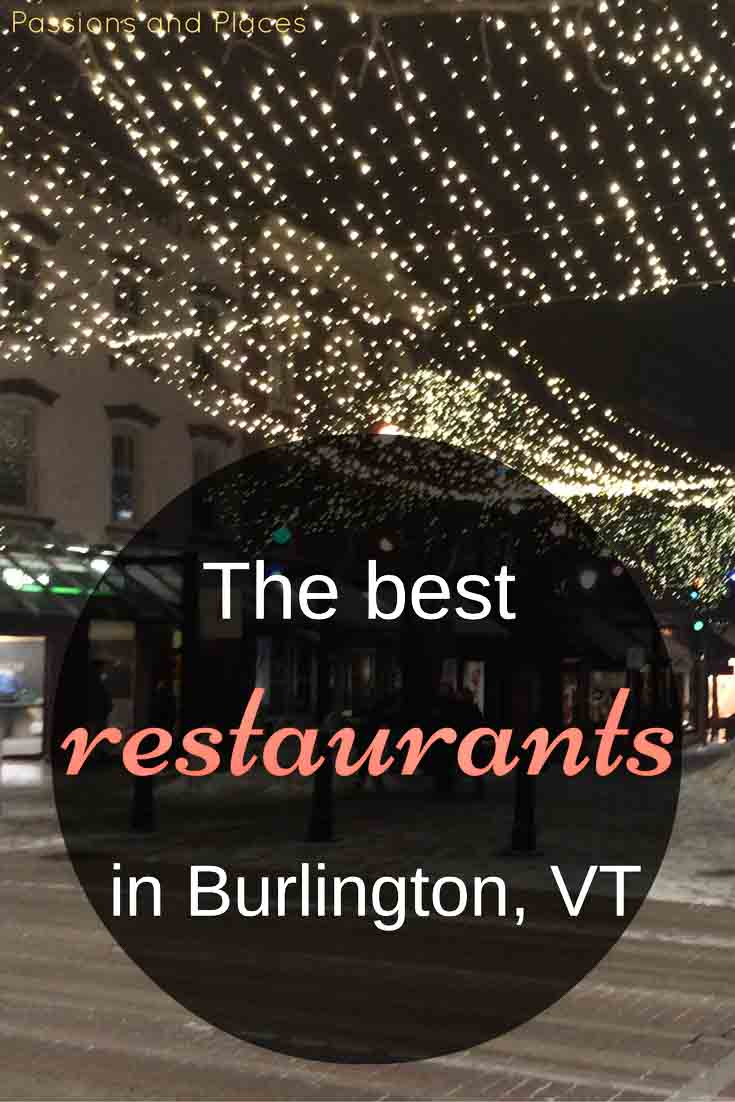 Good Eats In A Crunchy Town A Restaurant Guide To Burlington