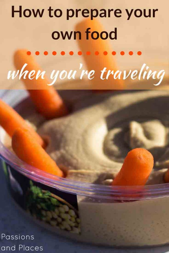 Eating out every day when you travel can get rough if you're health-conscious or on a budget. Here are some of the best alternatives, including healthy road trip snacks, other cheap travel foods, easy recipes, and a food packing list.