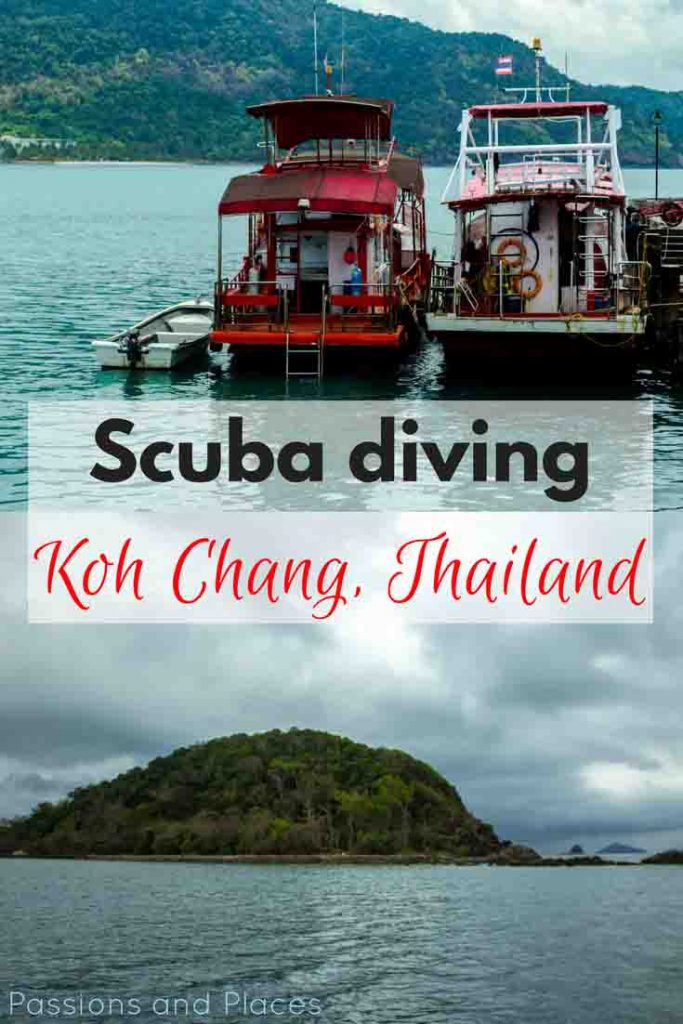 Koh Chang may not be the top spot for diving in Thailand, but this huge island has a lot to offer. After visiting Koh Tao to do a PADI open water diving certification five years ago, Koh Chang was a great place to get back into scuba. It's known for wreck diving, but the waters are also full of tropical fish and colorful coral accessible to divers of all levels.