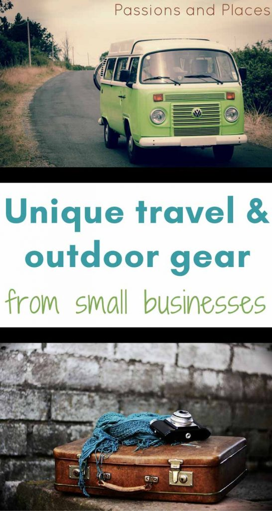 Responsible travel starts at home, so support small businesses when you buy your travel and outdoor gear. This list includes unique travel products and sustainable gear you won't find elsewhere, and has perfect gifts for travelers. Celebrate Small Business Saturday and support small businesses!