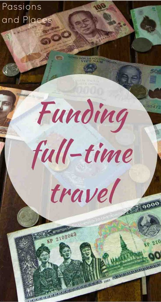 Full-time travel costs less than you think, especially in regions like Southeast Asia. After a year of traveling and working as digital nomads, this is how we're funding our lifestyle. We saved up before we left, and remote work in freelance writing offsets some of our travel costs. But traveling on a budget and visiting affordable countries like Thailand and Vietnam keeps our expenses low, and work exchange and housesitting positions cut them even further.