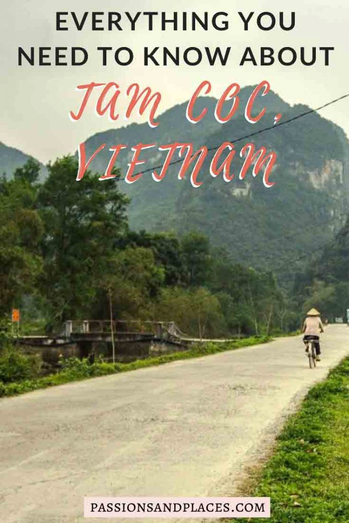 "The area around Ninh Binh and Tam Coc, Vietnam, is often called ""Halong Bay on Land,"" and with good reason. The scenery is breathtaking, and the countryside is perfect for a bike ride. Don't miss Bich Dong pagoda or the boat tours at Trang An grotto either. Many tourists just take a Tam Coc day trip from Hanoi, but it's well worth sticking around a bit longer. #tamcoc #ninhbinh #vietnam"