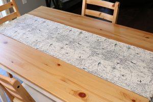 Map Table Runner
