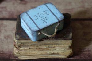 Rustic Suitcase Ring Box