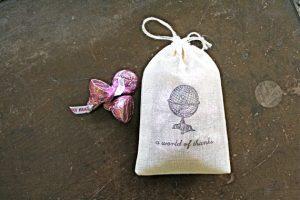 Wedding Favor Candy Bag