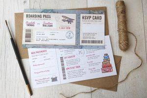 Boarding PassWeddingInvitations