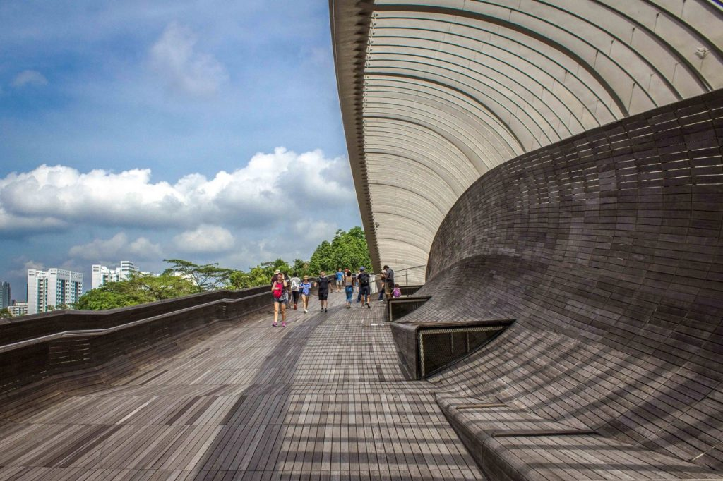 Hiking in Singapore might sound like an oxymoron, but the city is surprisingly packed with green spaces and walking trails. The Southern Ridges hike weaves through the city for six miles, covering the iconic Alexandra Arch and Henderson Waves. Hiking the Southern Ridges trail is free, so it's a great option for anyone looking to visit Singapore on a budget.