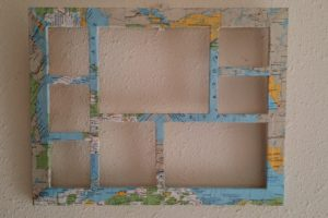 Map Photo Frame