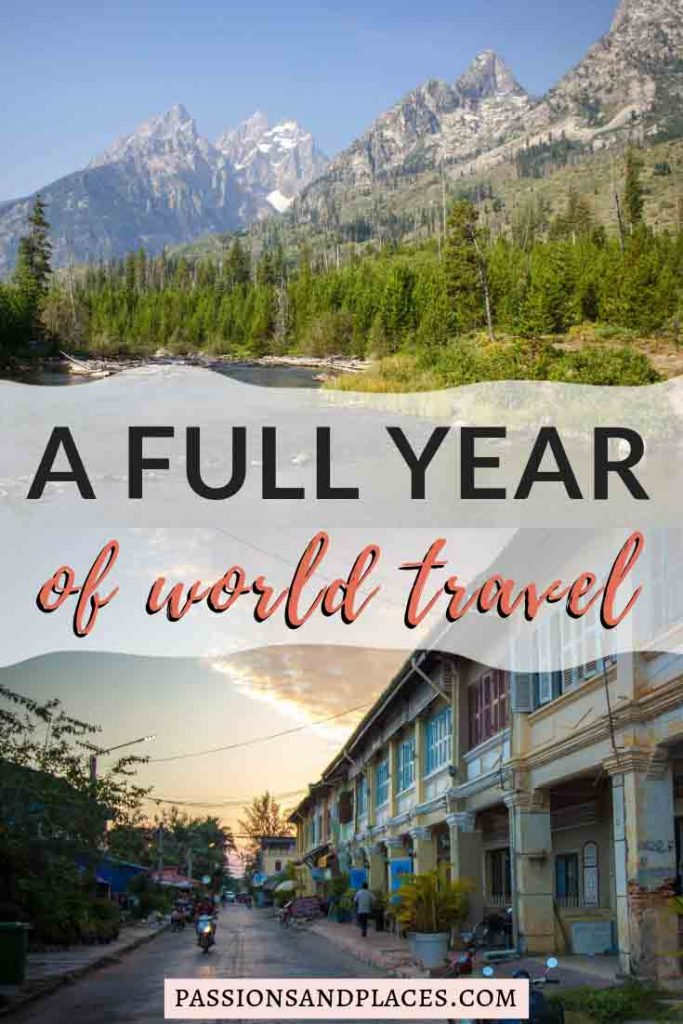 It's been two years of full-time travel as digital nomads, and we're looking back on the second year. We visited seven states in the U.S. and six countries in Southeast Asia, with lots of camping, yoga, and housesitting along the way. The digital nomad life has plenty of challenges, though, so we're reflecting on both the highs and lows of the past year.