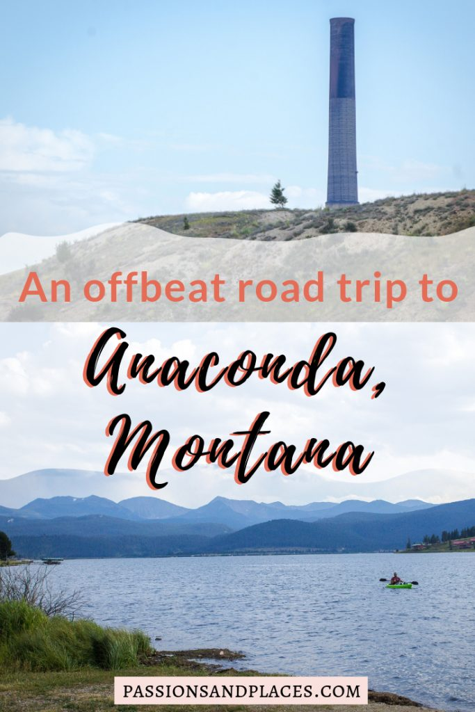 Montana is the perfect place for an offbeat road trip, one where you can explore rugged wilderness and stop in quirky small towns. Not many visitors make it to Anaconda, Montana, but this town has lots of interesting things to see if you enjoy getting off the beaten path. Plus, there's great hiking and skiing nearby, and you can take a day trip to Philipsburg, Granite Ghost Town, or Lost Creek State Park. #Montana #AnacondaMT #PhilipsburgMT