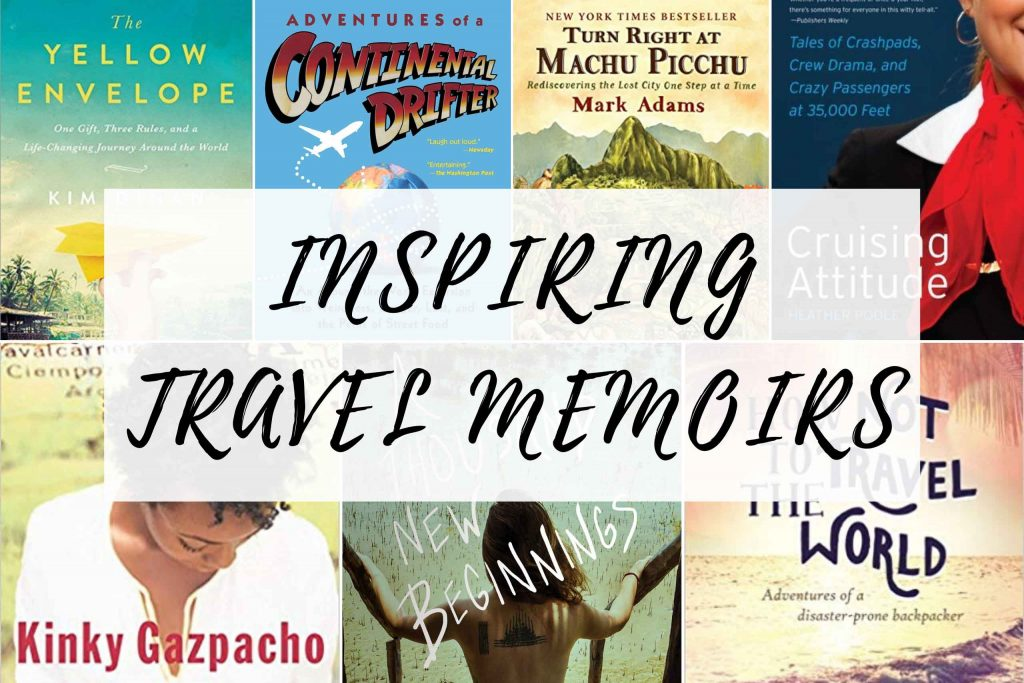 If you're looking for travel book recommendations, look no further! These top travel memoirs will entertain, inspire, and educate, so put one (or all of them) on your reading list! Plus, any of these books will make great gifts for travelers who love to read. #books #bookrecommendations #readinglist