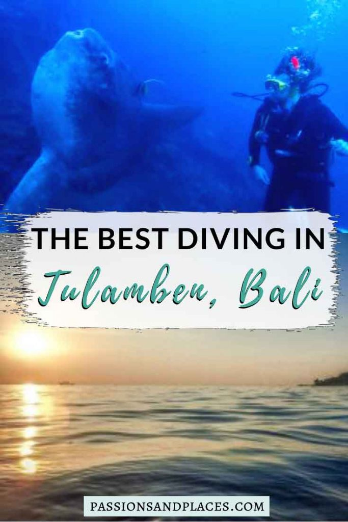 Scuba diving in Tulamben is one of the top things to do in Bali, whether you want to do an open water certification or just get underwater for fun. The famed Bali wreck dive of the USAT Liberty is just off the coast of Tulamben, and elusive Mola mola fish sometimes frequent these waters. This Tulamben diving review covers everything you need to know about the area's best dive sites and specialty dives, plus the PADI advanced open water course. #tulamben #bali #balidiving