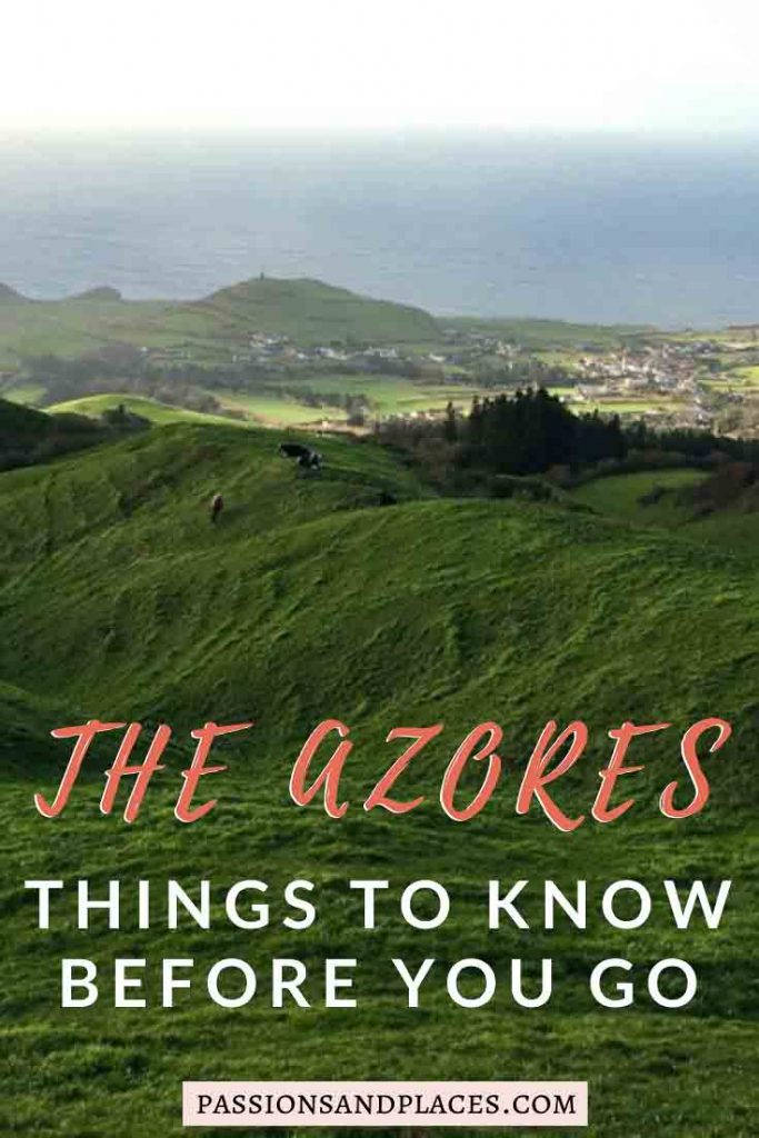 Thinking about taking a trip to the Azores? Part of Portugal, these islands in the Atlantic are culturally rich, incredibly lush, and very budget-friendly by Europe standards. Here's what to know about the Azores before you travel there, from food and wine to art and history. #azores #azoresislands #portugal #europe