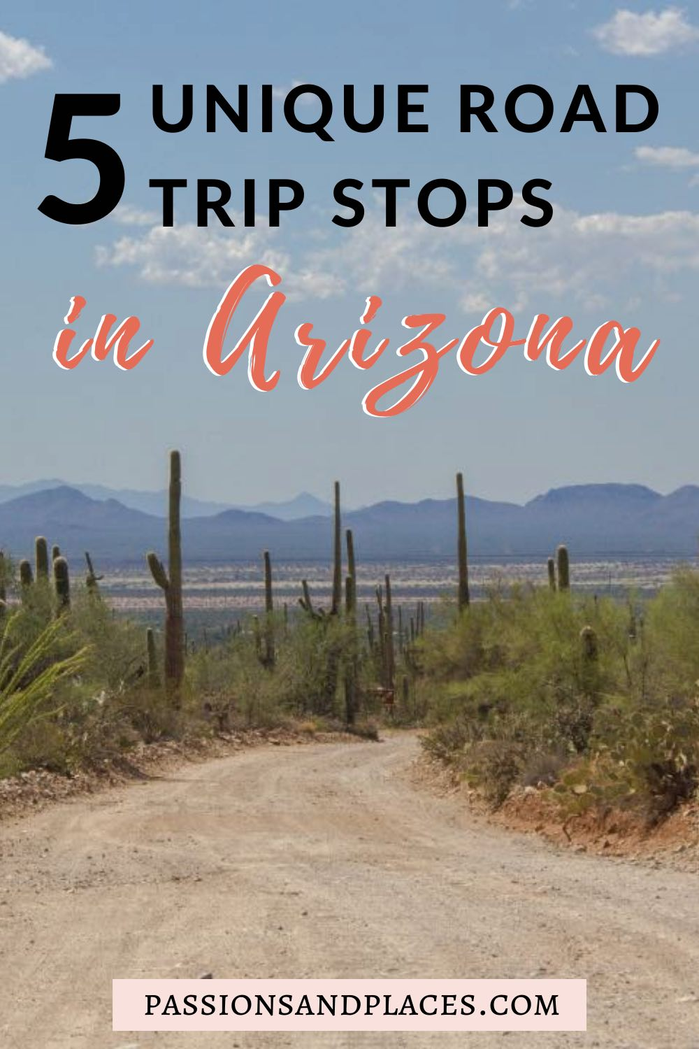 Are you planning a road trip through Arizona? From lesser-known parks to small rural towns, there's so much more to this state than the Grand Canyon and Sedona. Check out this list of unique places to visit in Arizona, including Bisbee, Saguaro National Park, and more! #arizona #southwest #roadtrip
