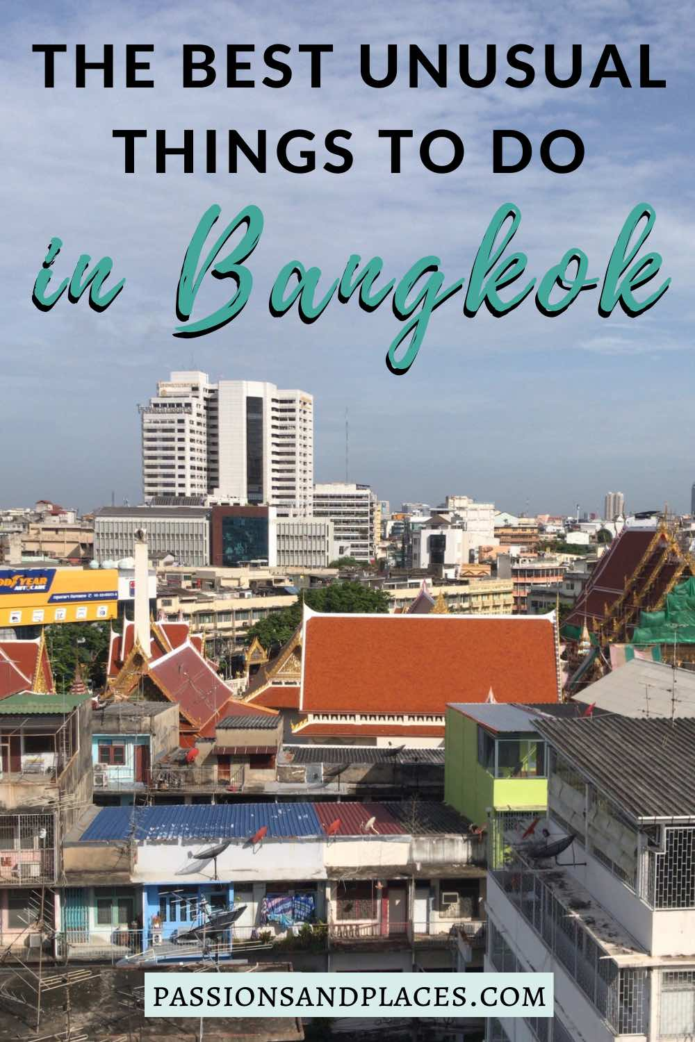 There are so many iconic sights in Bangkok, from the Grand Palace and Wat Arun to Khao San Road. But if you're looking for something a little different, try this list of non-touristy things to do in Bangkok. From abandoned buildings to one-of-a-kind restaurants, these are some of the weirdest things to do - and maybe the most memorable. #Bangkok #Thailand #offthebeatenpath