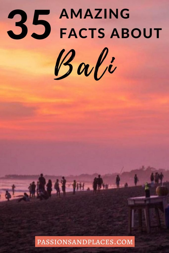 Whether you're planning a trip to Bali or you just love trivia, check out this list of fun facts about Bali, Indonesia. You'll learn about the history and culture of the island, plus what to expect if you visit! #bali #indonesia #baliindonesia