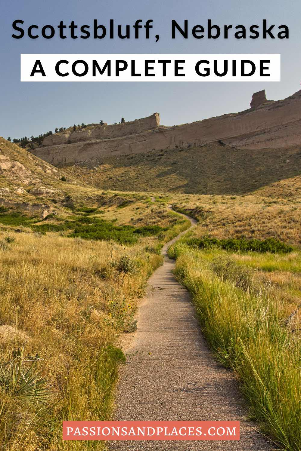This Scottsbluff, Nebraska, travel guide has everything you should know about visiting the biggest town in the Nebraska Panhandle! Learn what to do at Scotts Bluff National Monument, find the best hotels and restaurants in Scottsbluff, and get ideas for fun day trips. Scottsbluff is a great road trip stop, and this is the best of it! #nebraska #scottsbluff #scottsbluffnationalmonument